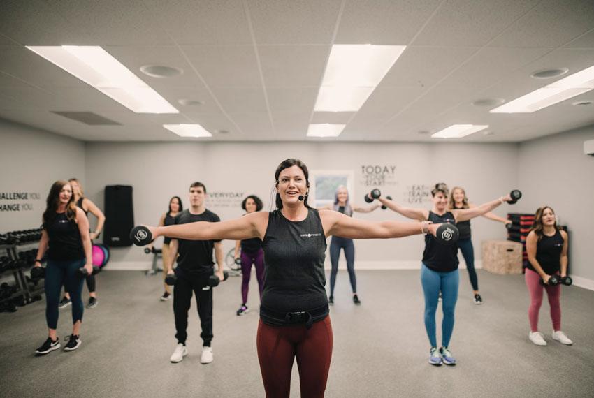 energ fitness studio group fitness class