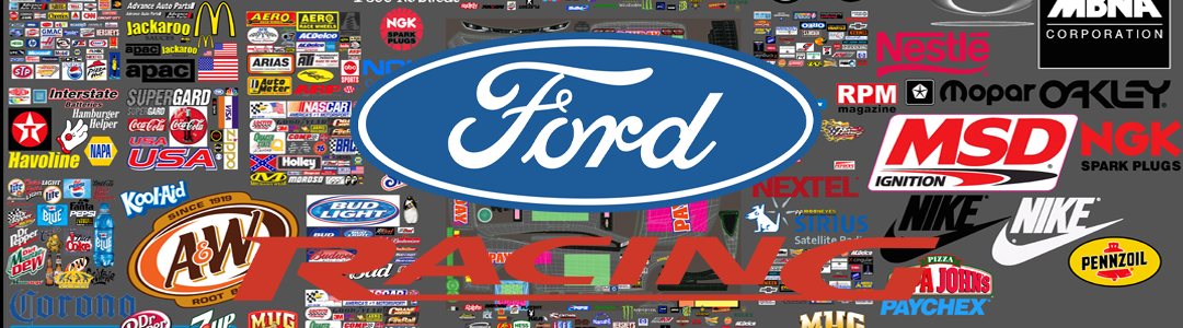 Gen 6 Ford Decal layers