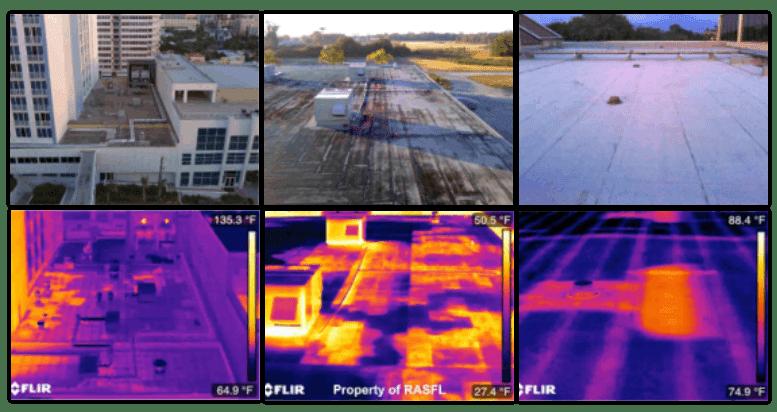Visual vs infrared