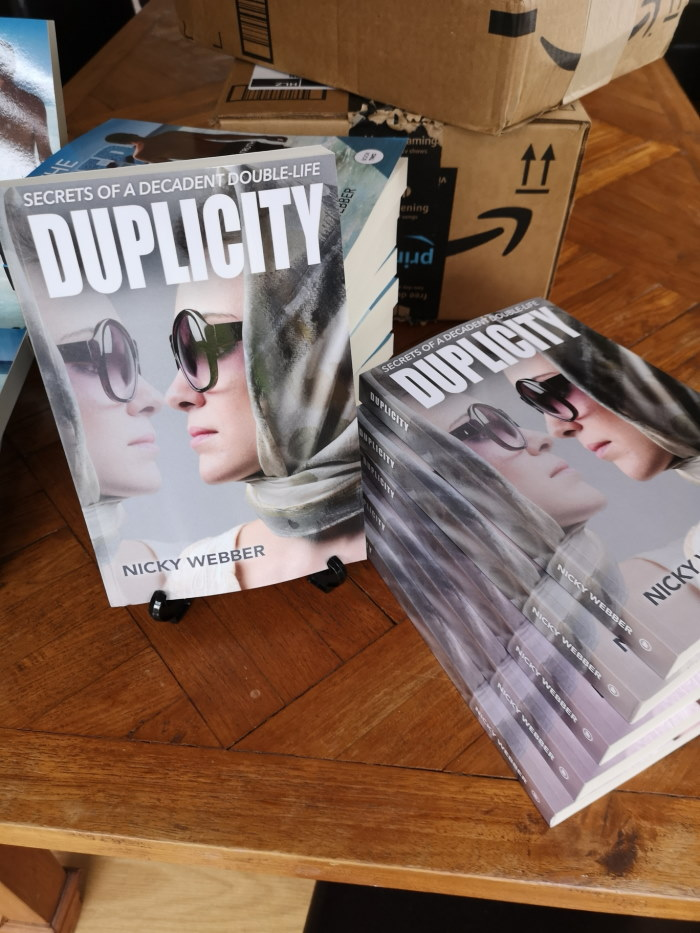 Duplicity Book Covers