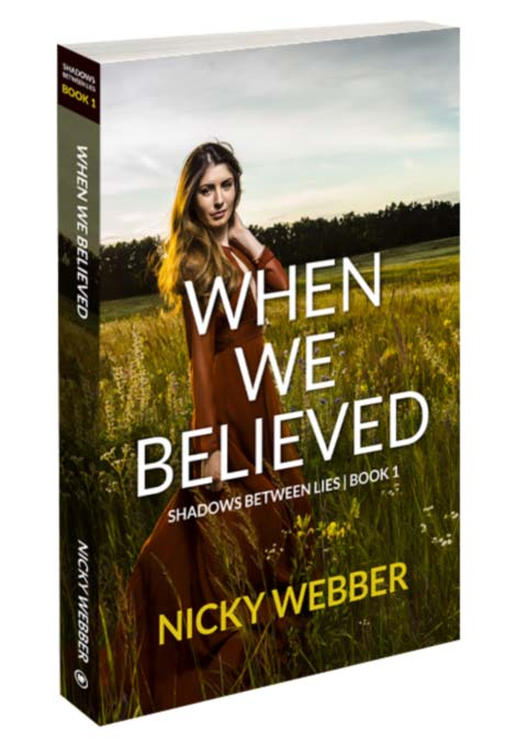 Shadows Between Lies Series Book 1 - When We Believed - Amazon and Kindle