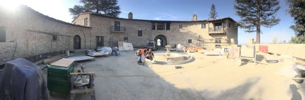 Panorama workers