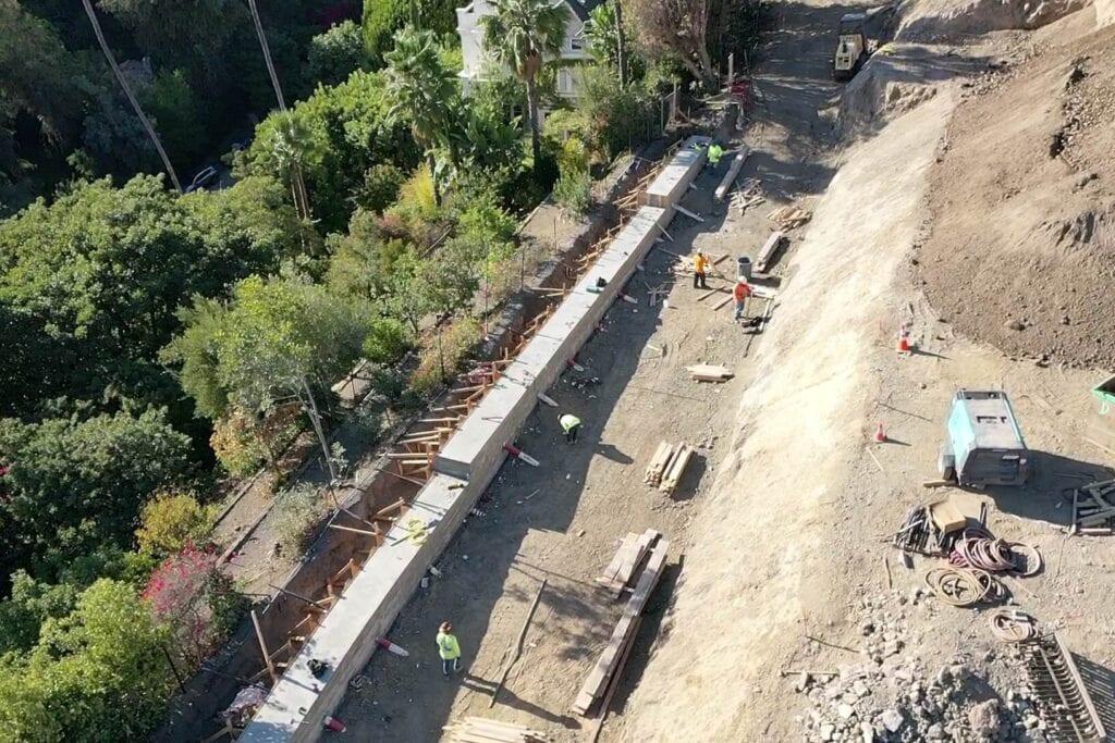 Construction Left Side