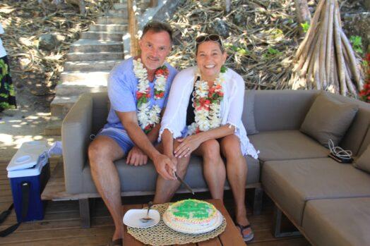 Honeymoon beach Turtle Island