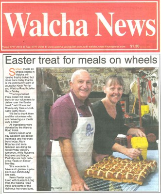 Easter treat for meals on wheels
