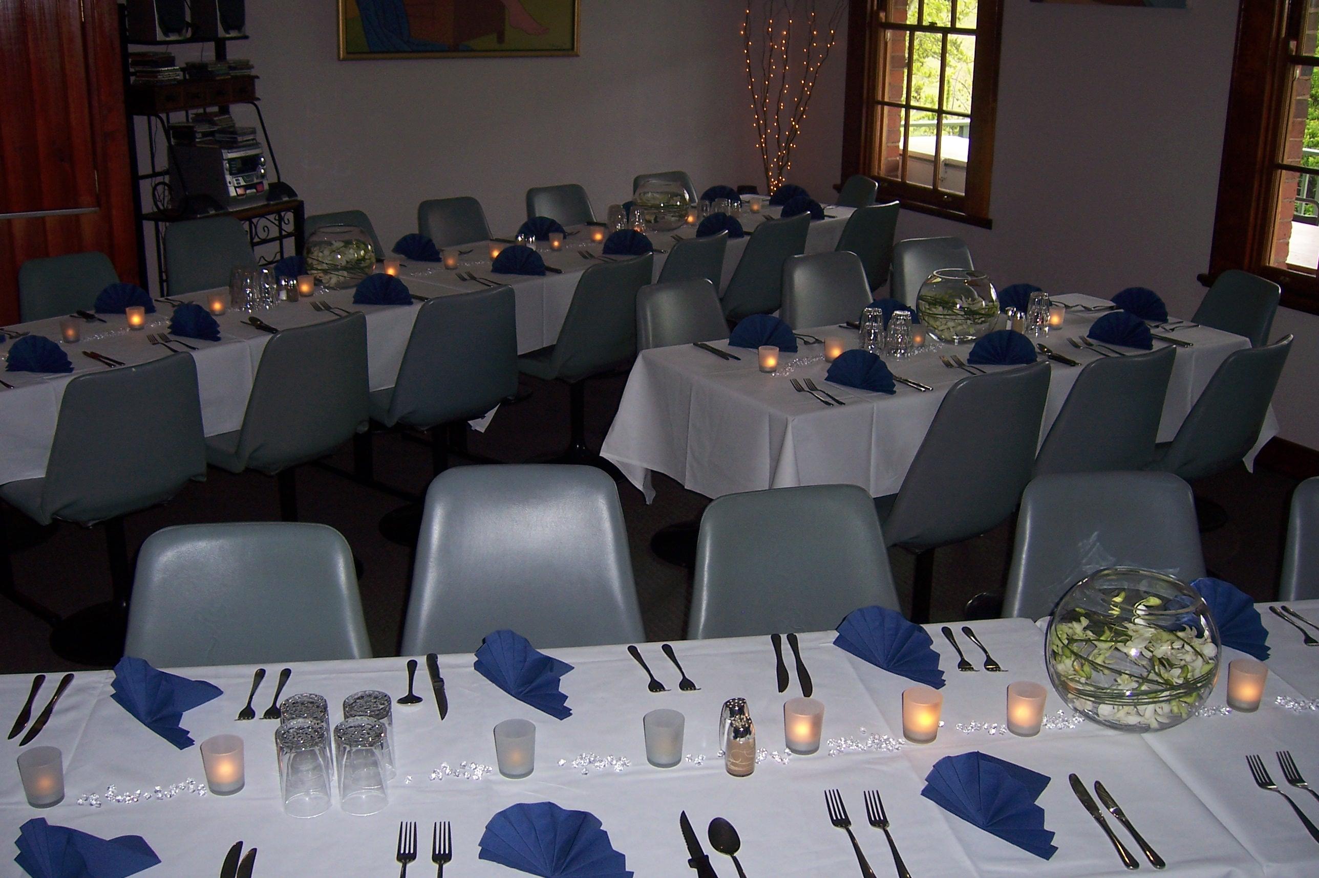 2. Wedding Table Setup