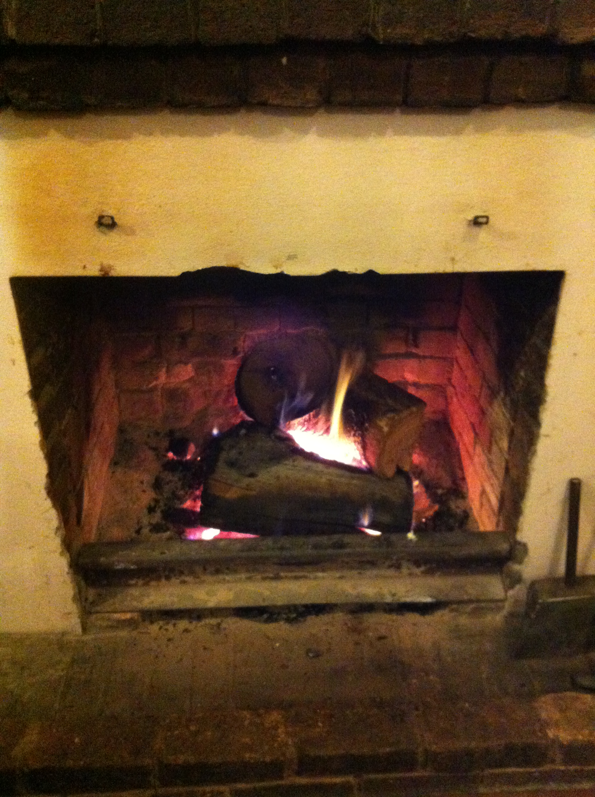 4. Traditional Fireplace