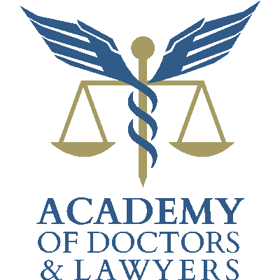 academy of doctors and lawyers logo stacked