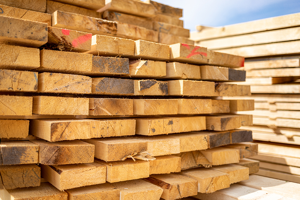 Lumber Prices Begin To Recover