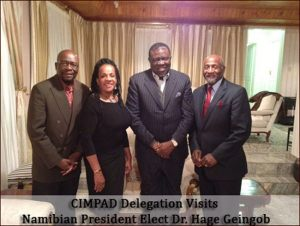 CIMPAD-Delegation-Visits-Namibian-President-Dr.-Hage-Geingob
