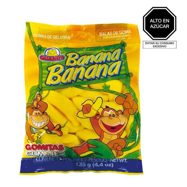 Guandy Gomas Banana x 125 gr.