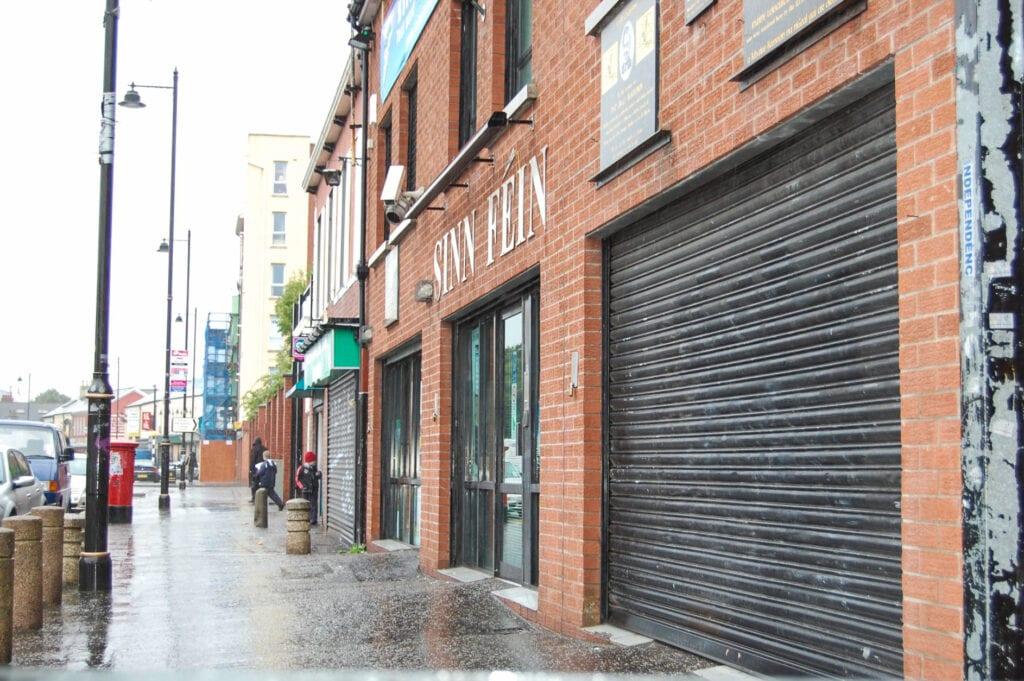 The streets of Belfast, Ireland