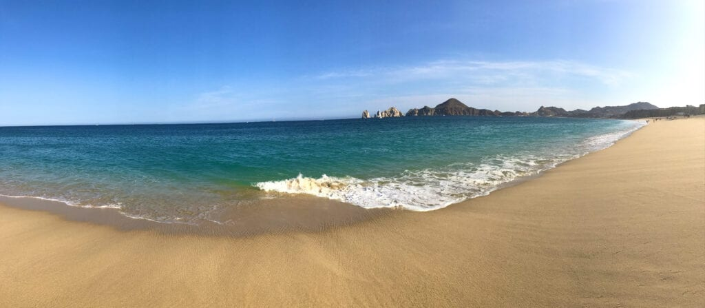 beautiful landscape shot of the ocean at the Rui Hotel and Resort, Cabo San Lucas, Mexico