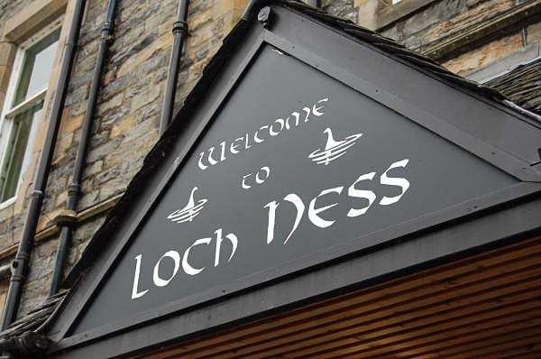 The Loch Ness Exhibit in Scotland