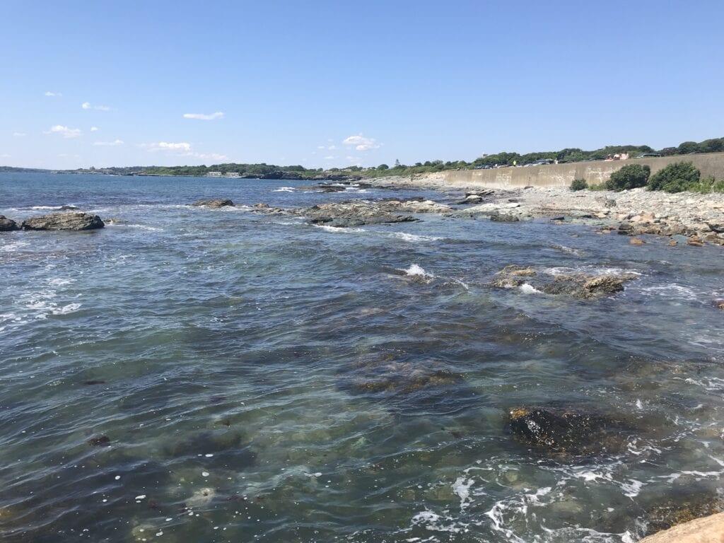 Gooseberry Beach in Newport, RI