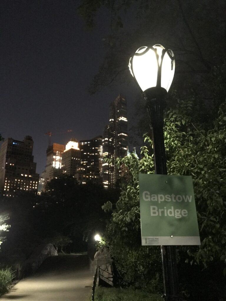 Gapstow Bridge, Central park New York
