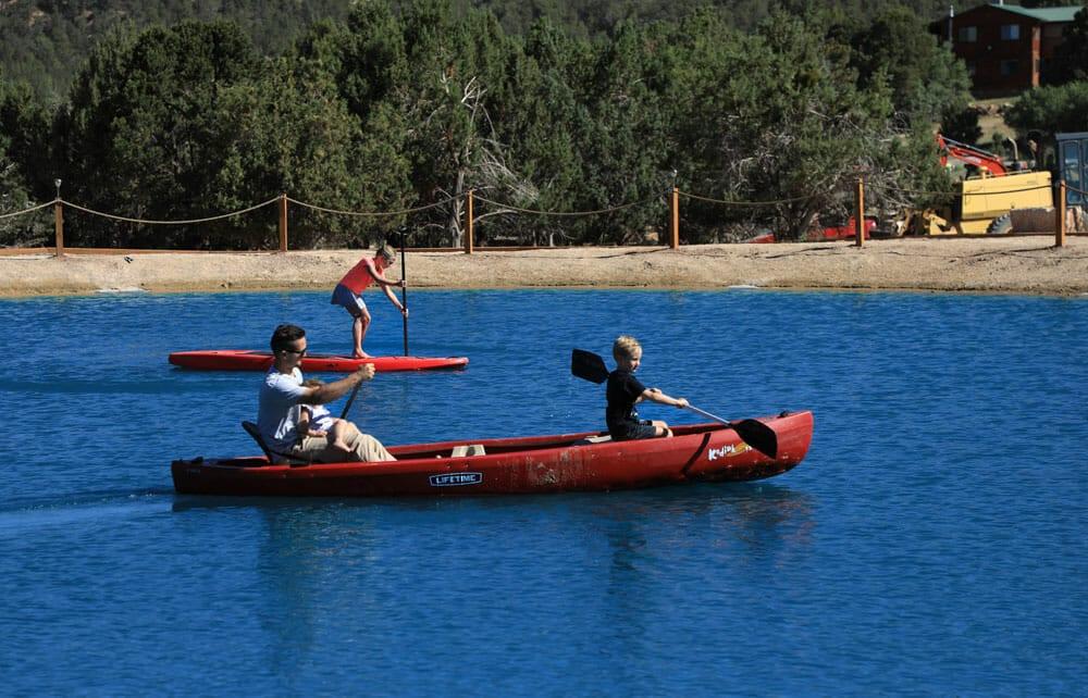 kayaking paddleboarding