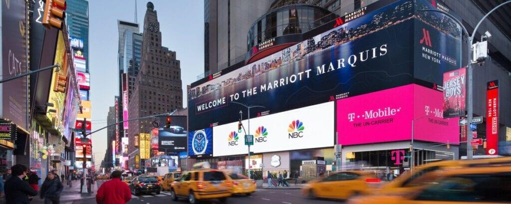 marriott hotel view New York