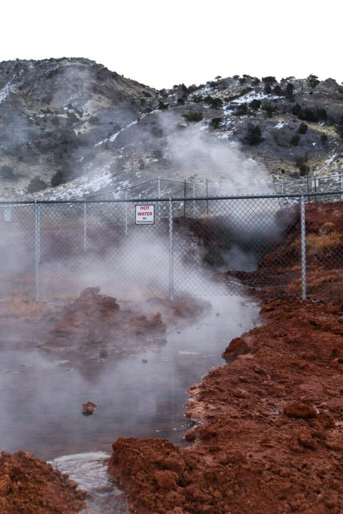 hot springs sign monroe