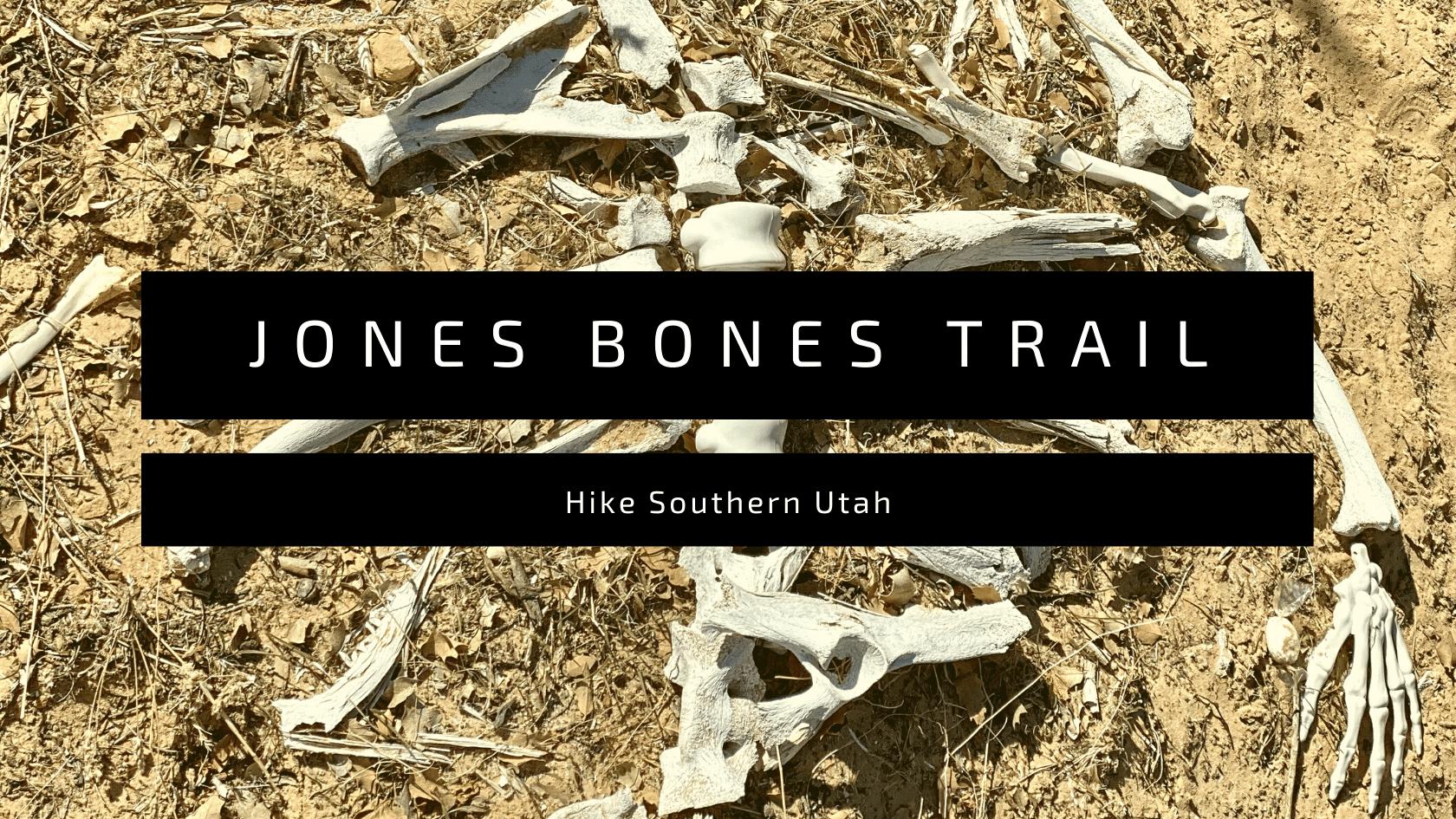 jones bones trail