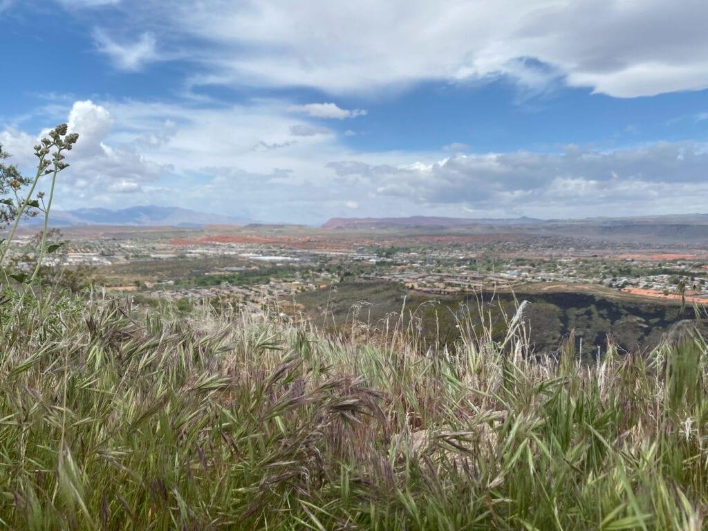 Utah hiking view