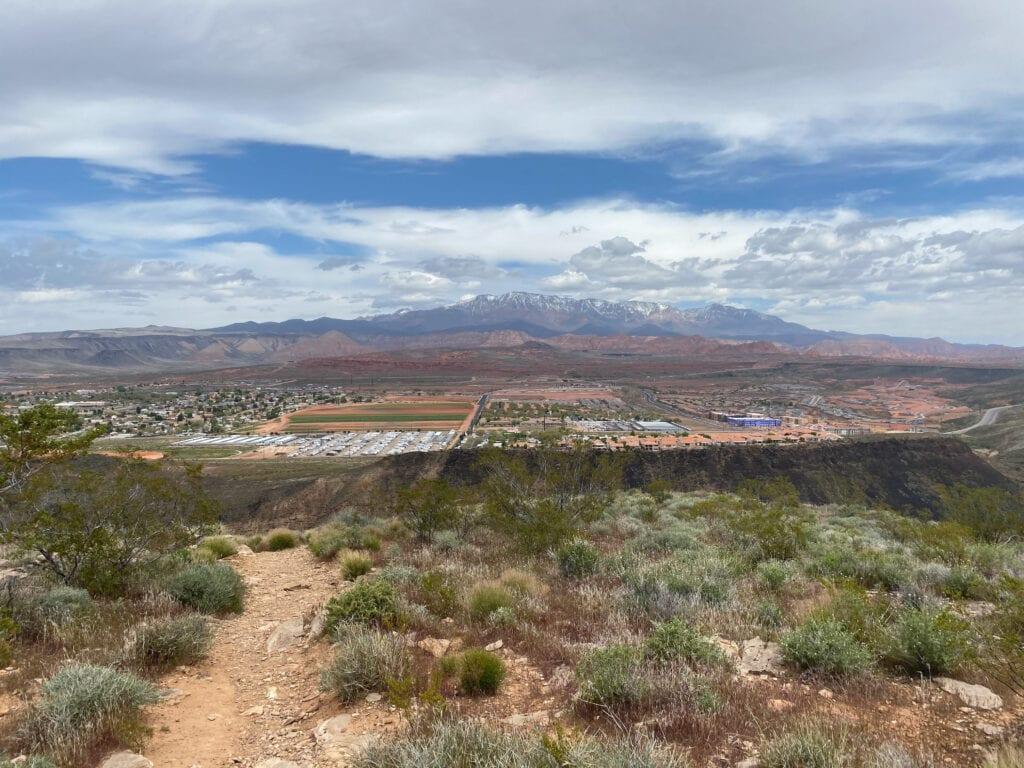 Utah hiking views