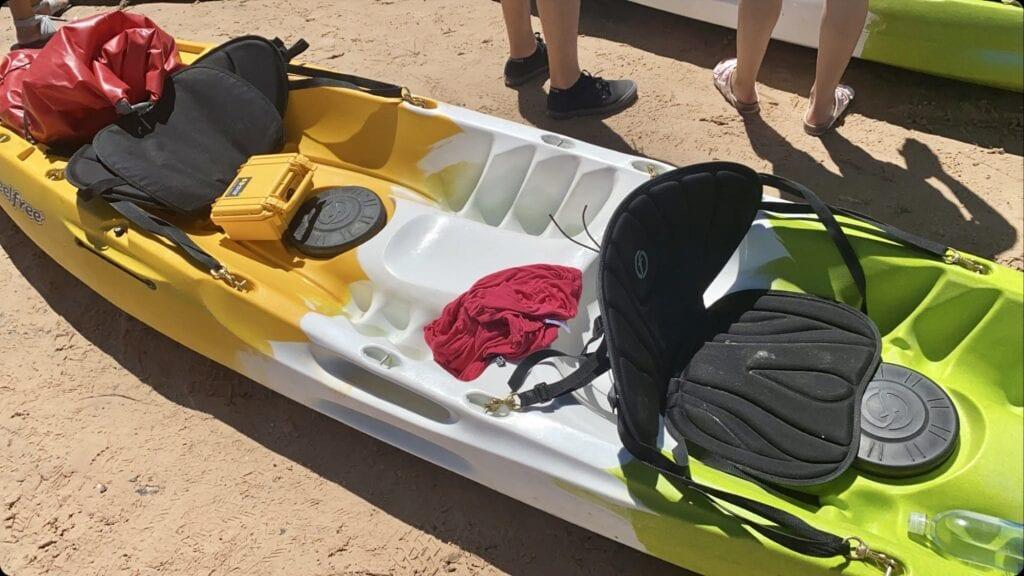 Kayaking Lake Powell