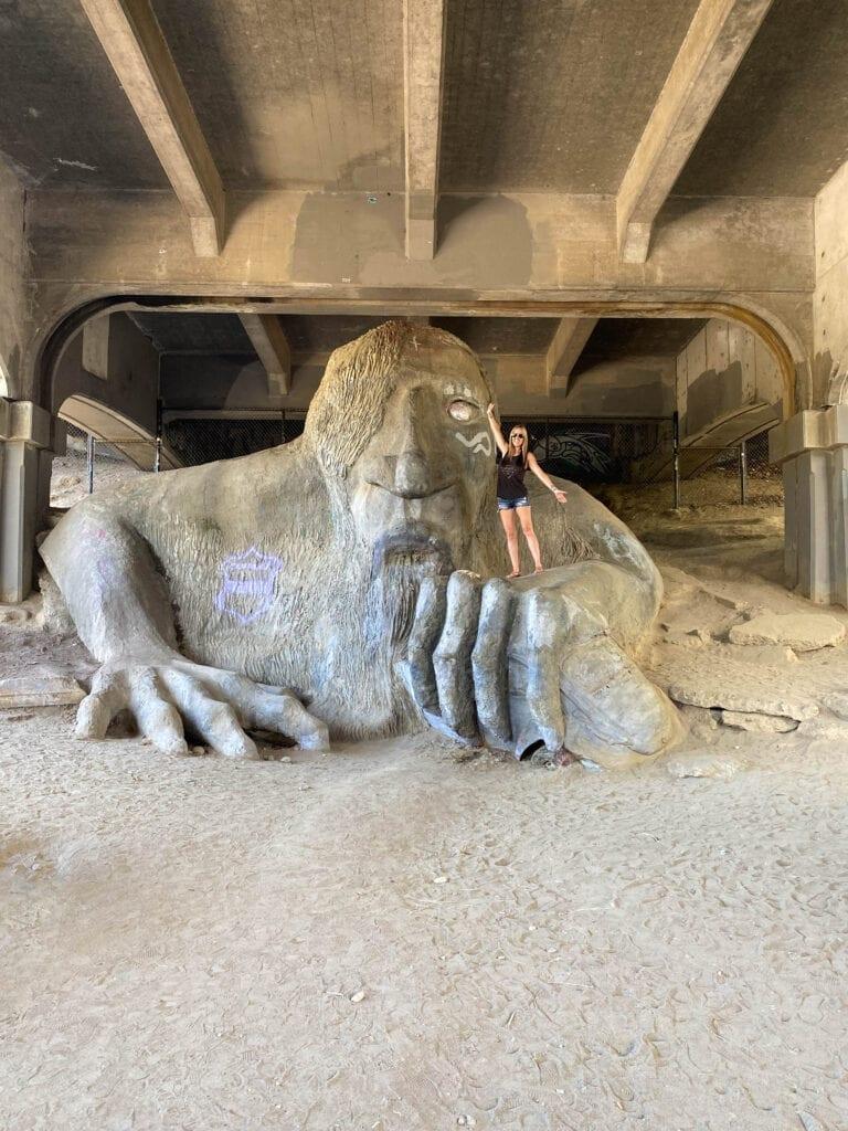Seattle Troll Under The Bridge