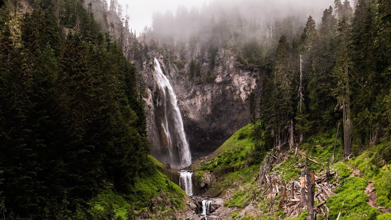 Comet Falls Mount Rainier