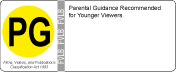 Rating - PG