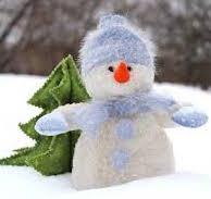 snowman, winter, deep listening