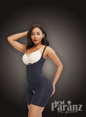 Seamless full body shaper with stunning tummy control and waist lifter new in black