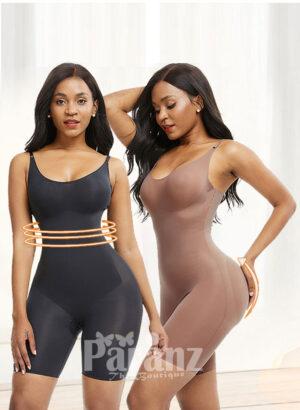 Women's high waist tummy control soft and smooth butt lifter body shaper