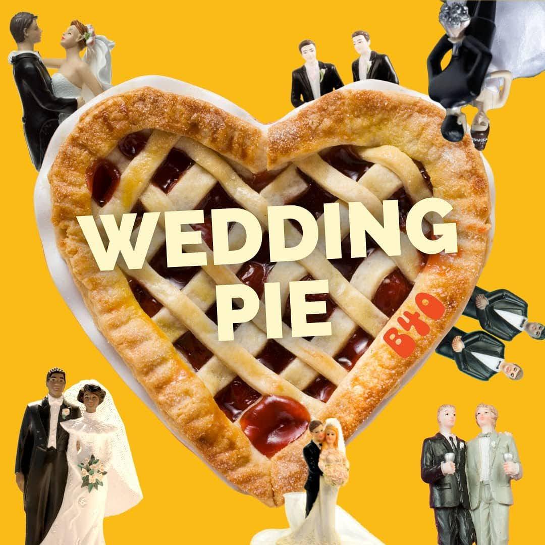 Wedding Pie: Wedding Cake X Grape Pie