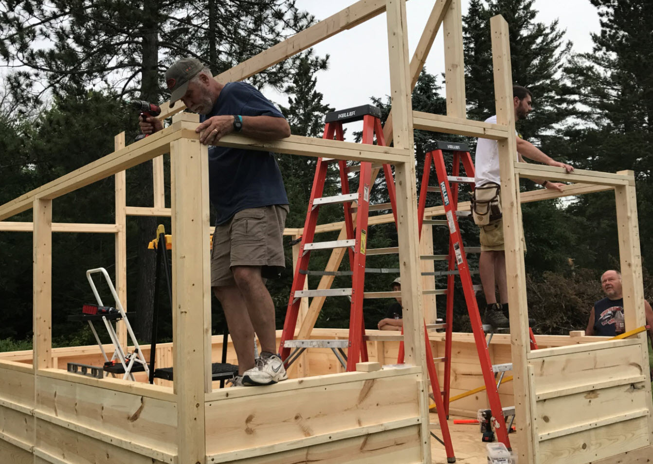 Hideout Tent Cabin Construction