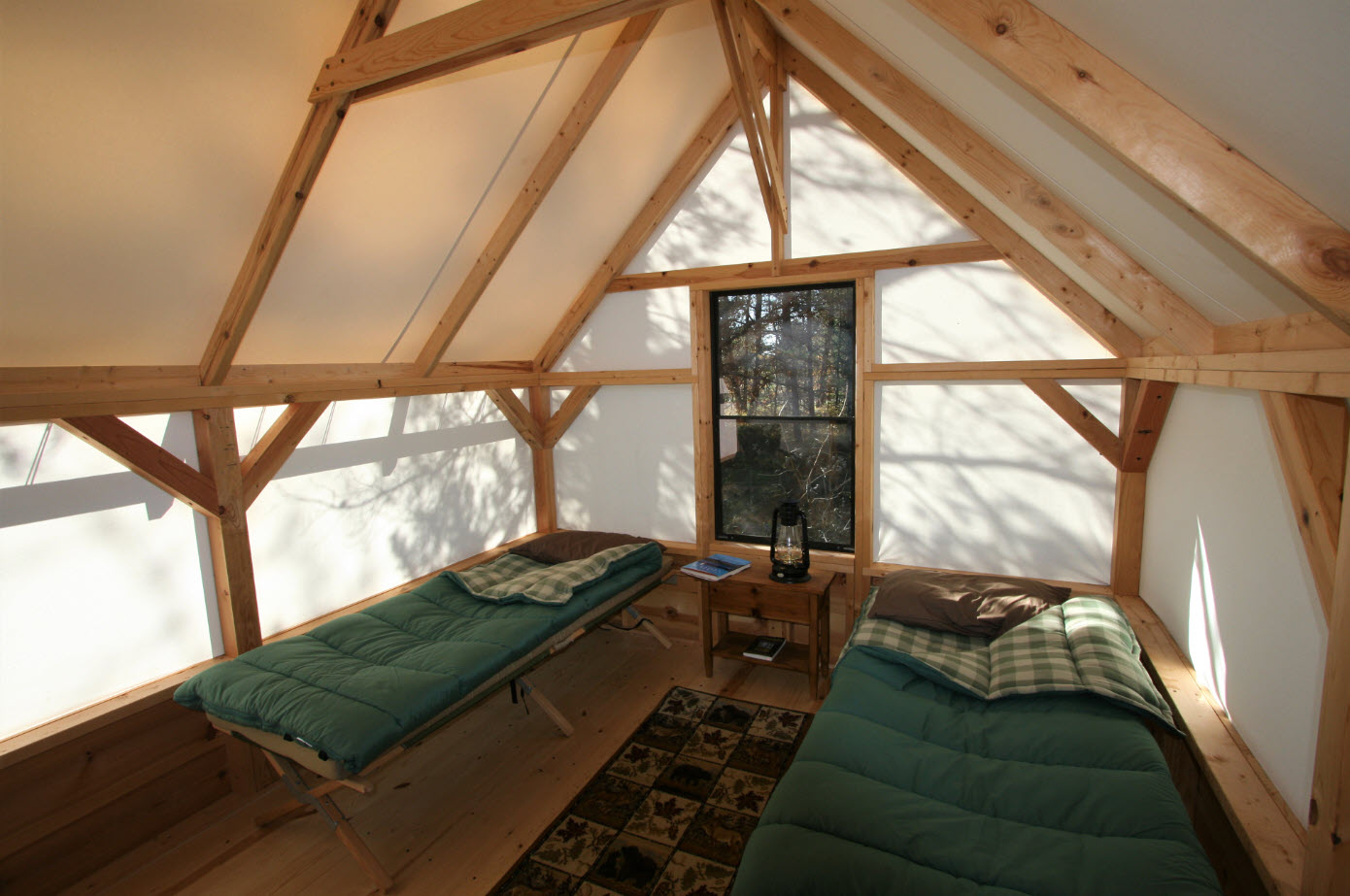 The Canvas Cabin Tent Cabin Kit