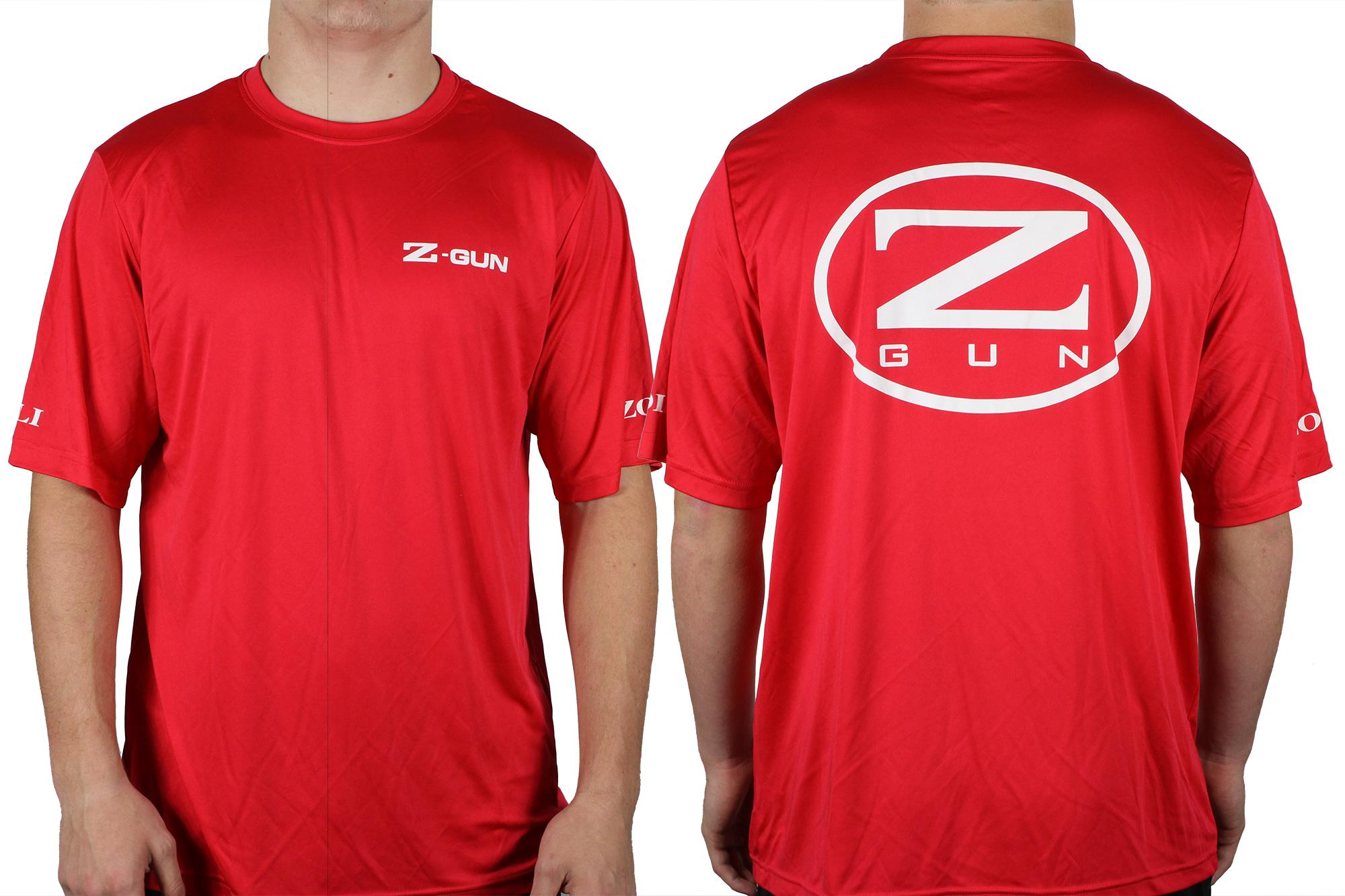 Z-GUN Sport Shirt ( Red )