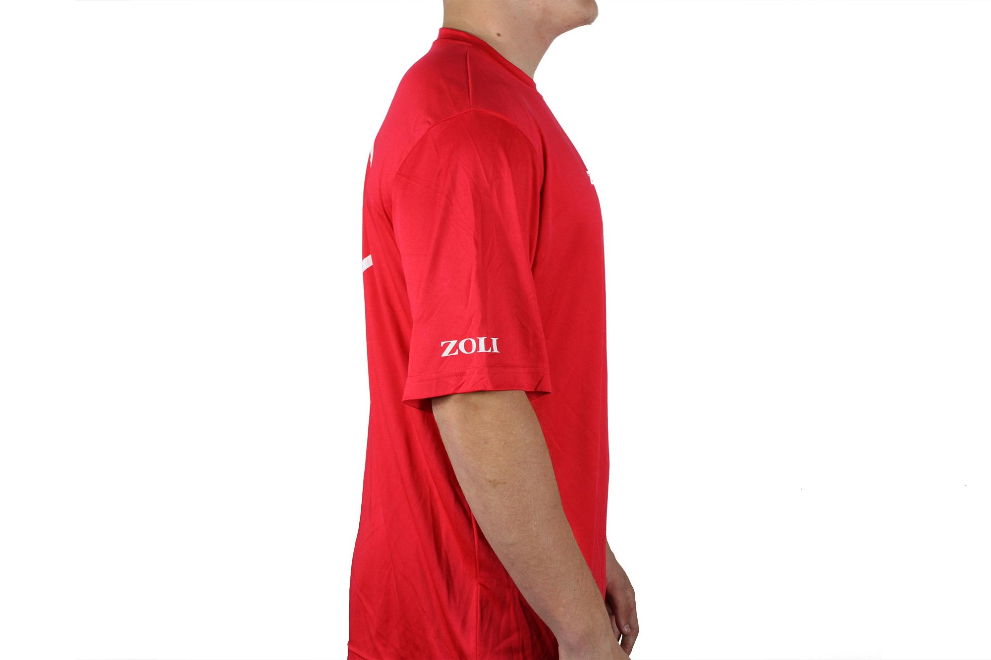 Zoli Z-GUN Red Sport Shirt right side