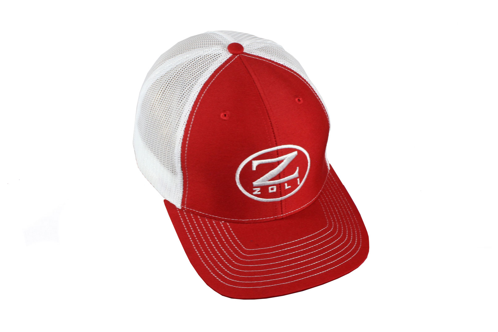 Zoli Embroidered Snap Back Hat (Red)