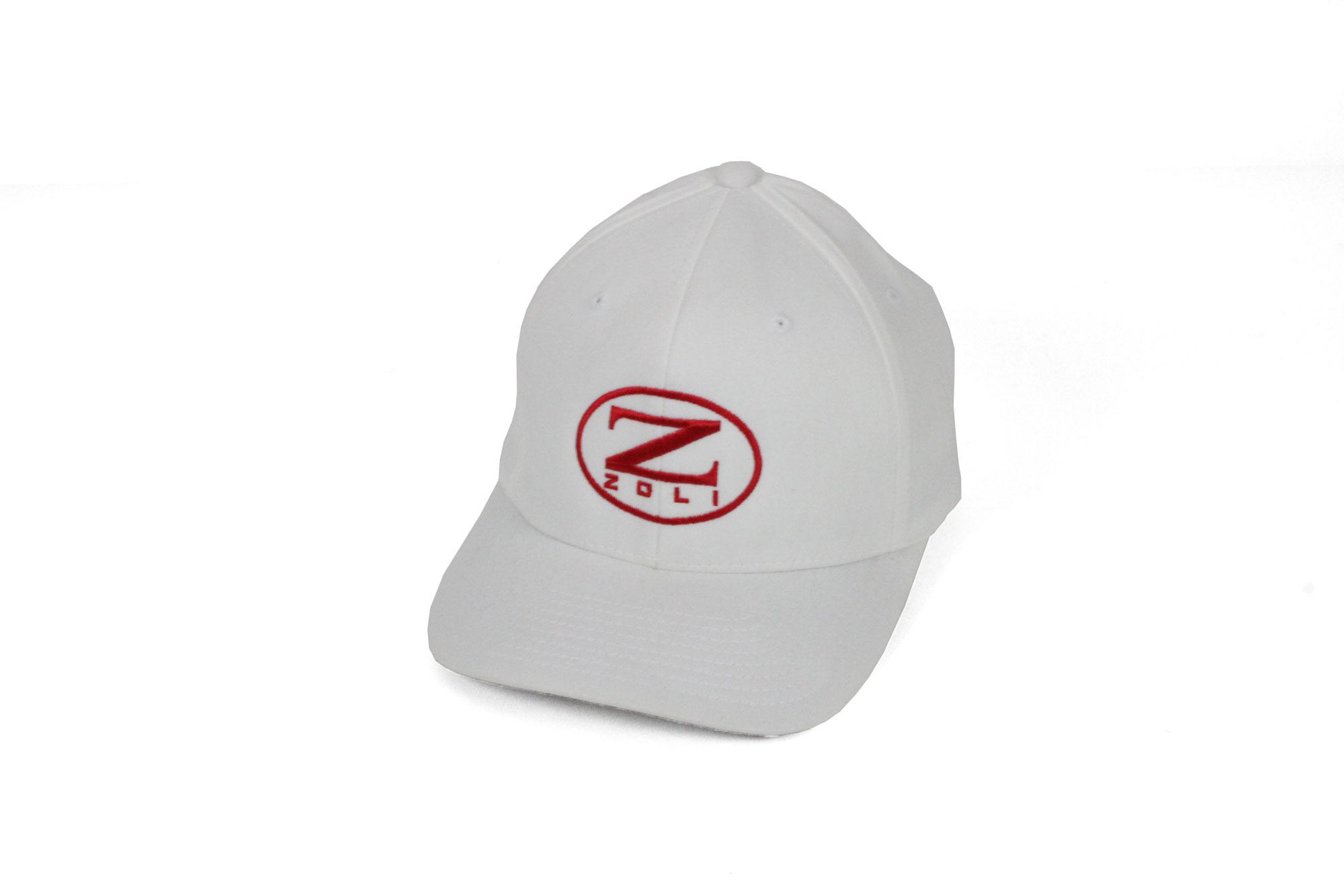 Zoli Embroidered Flexfit® Hat (White)