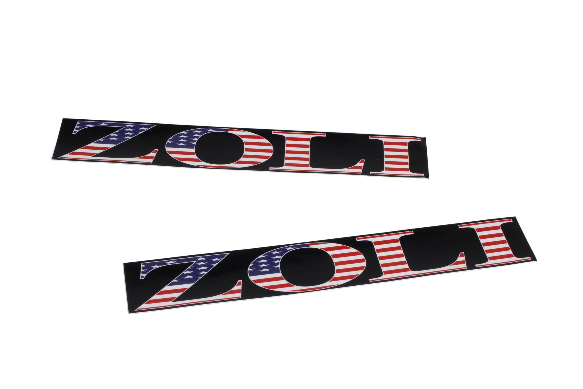 Zoli Barrel Sticker ( USA )