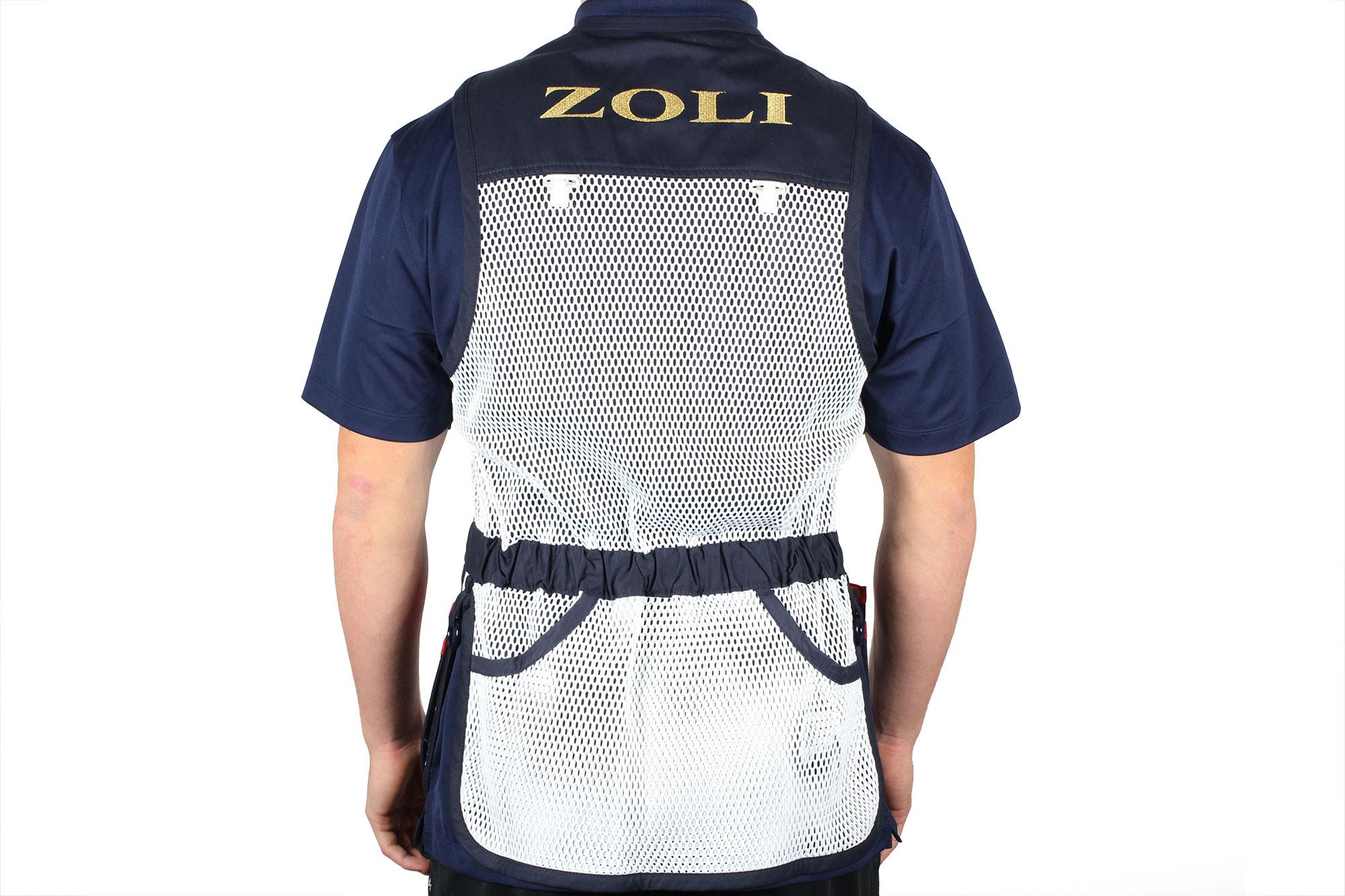 Zoli Shooter Vest By Castellani Back