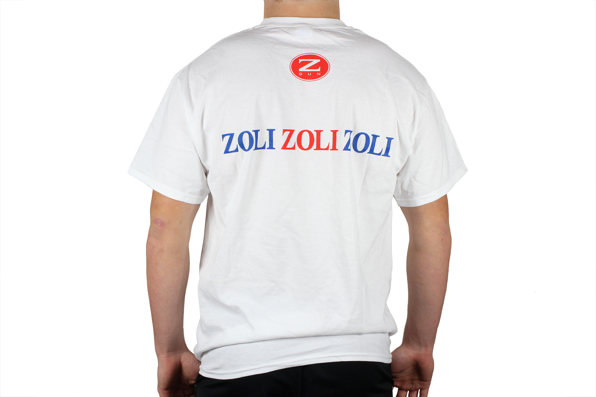 Zoli White T-Shirt Back
