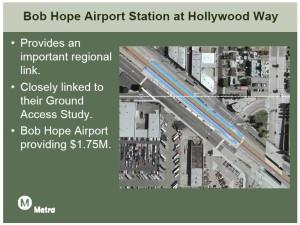 Bob Hope Airport Station