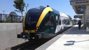 A-Train DART ride 1 4-22-2013