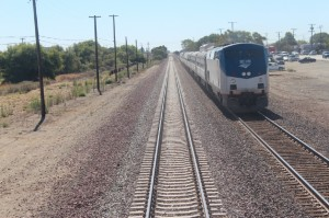 San Joaquin with comet cars 8-1-2013