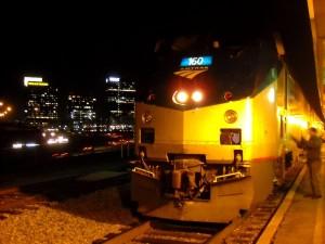 Train #20 the Crescent,  in Atlanta