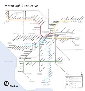 LAMetro transit plan