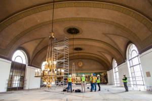 Sacramento station mural restoration