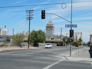 G Street in Fresno